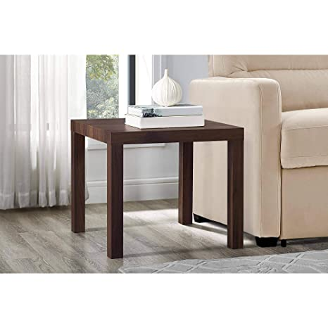 Amazon.com: Mainstays Parsons Square End Table, Multiple ...