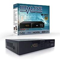 Sat Receiver Digitaler Satelliten-Receiver HD-LINE 310 FTA HD DVB-S2 HDMI OHNE PVR LIZENZ