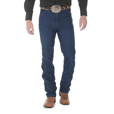 38c33cb9d8 Wrangler Men's Cowboy Cut Slim Fit Jean at Amazon Men's Clothing store: