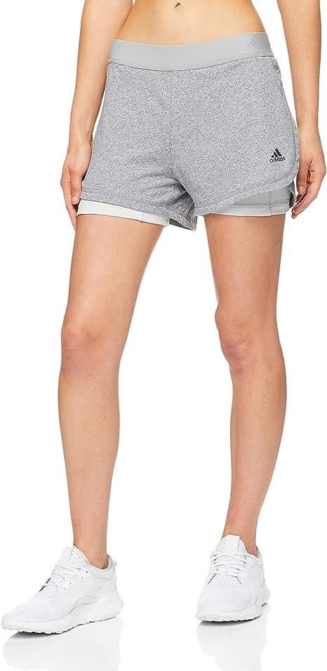 adidas Damen Short 14 2in1 Soft: : Bekleidung