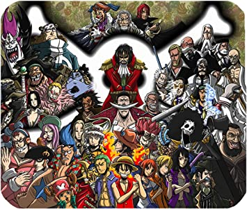 Mousepad One Piece Luffy Gadget Piratas Cartoons alfombrilla ...