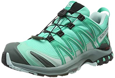 Salomon XA Pro 3D GTX W chaussures trail vert turquoise