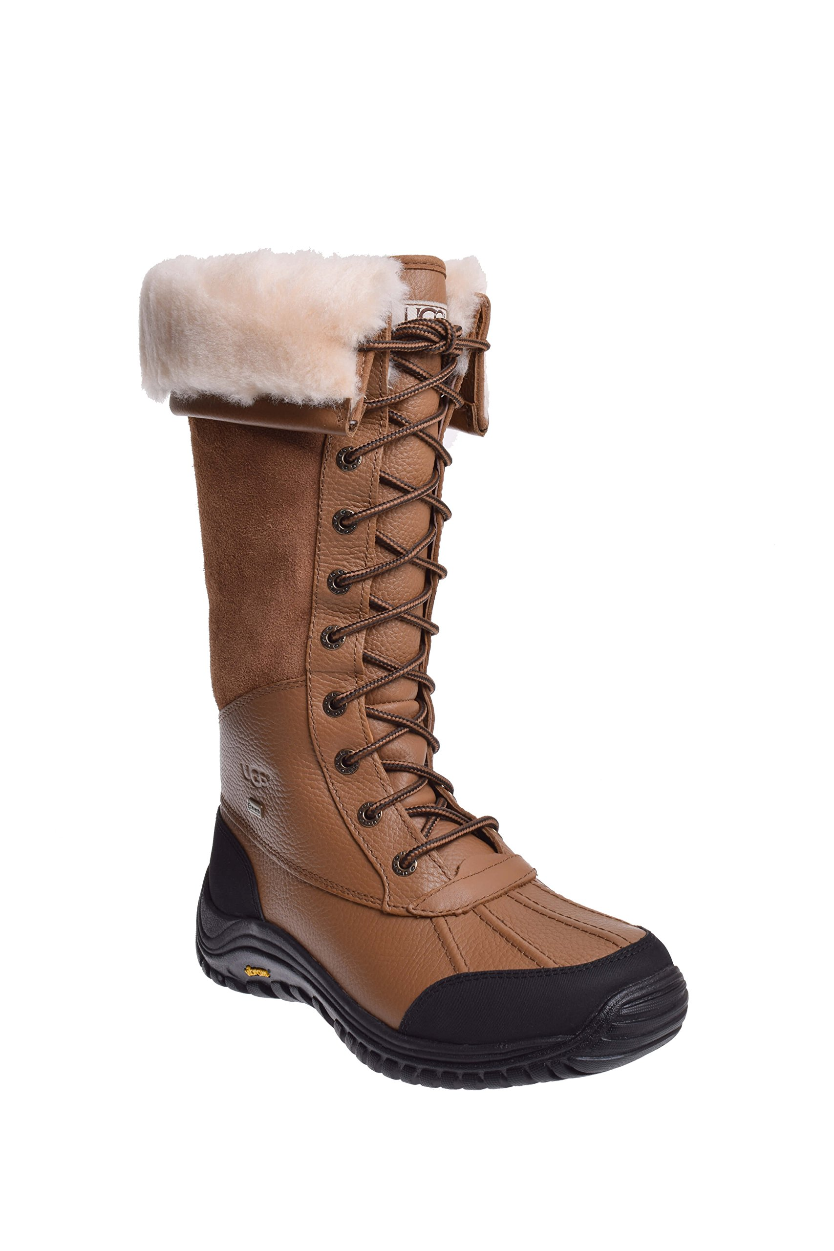 UGG Women's Adirondack Tall Snow Boot, Otter, 9 M US