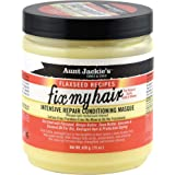 Aunt Jackie's Flaxseed Recipes Fix My Hair, Intensive Repair Conditioning Masque, Helps Prevent and Repair Damaged Hair…
