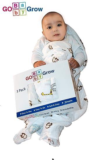 f7676071abc2c Baby Swaddle - Best Baby Wrap, Baby Shower Gift Wrap, Swaddle Blanket,  Sleepy