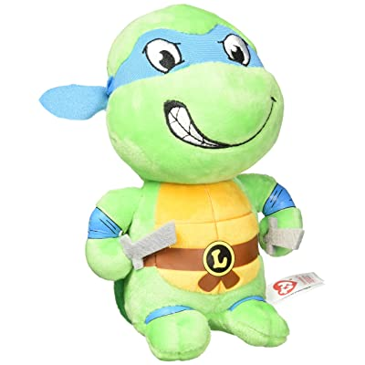 Ty Teenage Mutant Ninja Turtles Leonardo Mask, Blue, Regular: Toys & Games