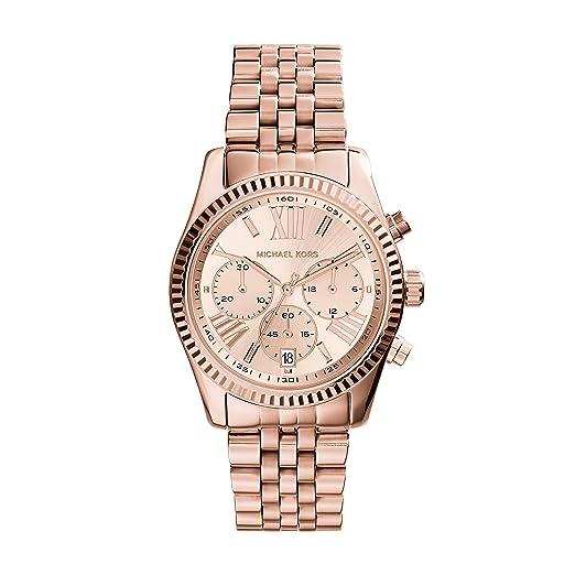 michael kors mk5569 collezione lexington orologio da polso donna rh amazon it