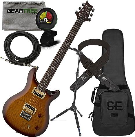PRS SE 277 barítono guitarra eléctrica (Sunburst) W/gamuza de ...