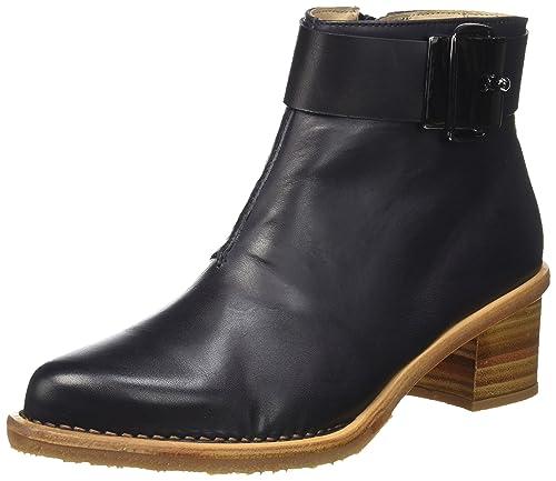 Neosens BOUVIER - botas de caña baja con forro cálido y botines Mujer, Negro - Noir (Ebony), 38: Amazon.es: Zapatos y complementos