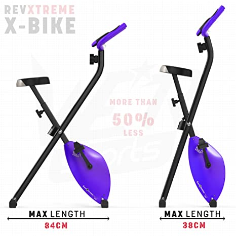 We R Sports X-Bike Purple - Elíptica de fitness (plegable, magnético), color morado: Amazon.es: Deportes y aire libre