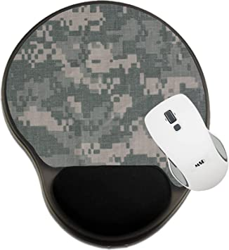 Mat with Wrist Support Camouflage Army Combat Uniform Photo 7129906 MSD Mousepad Wrist Rest Protected Mouse Pads