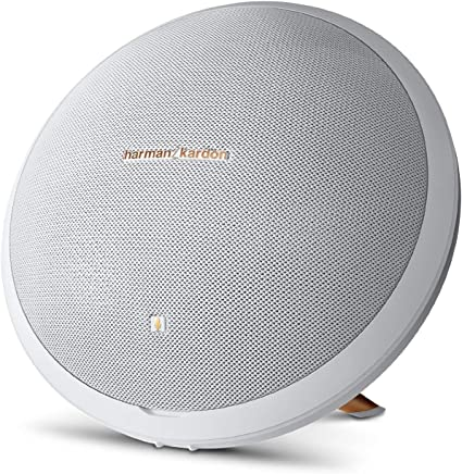 Harman Kardon Onyx Studio 8 Wireless Speaker System with Rechargeable  Battery and Built-in Microphone White