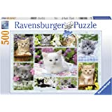 Ravensburger Kitten In A Basket Jigsaw Puzzle (500 Pieces)