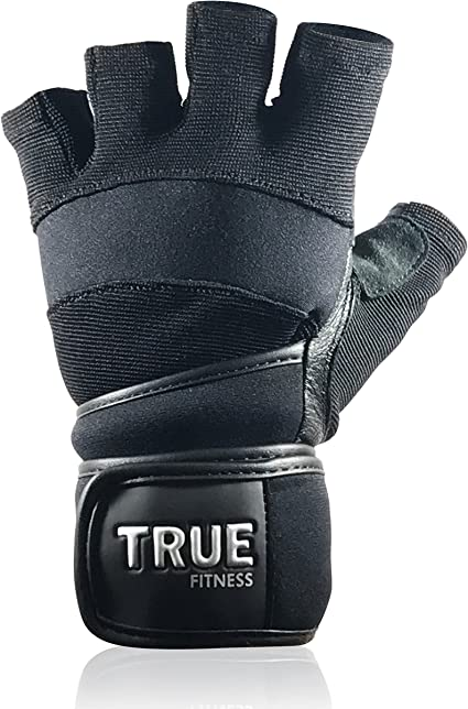 Mens Ladies Fitness Training Bodybuilding Gym Weight Lifting Wrist Wrap Gloves