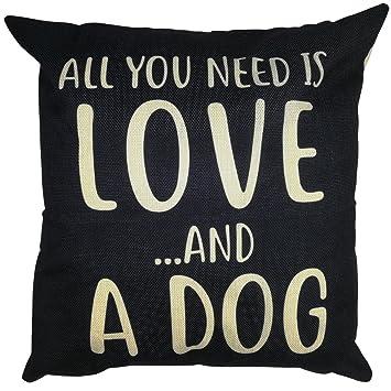 Amazon.com: Arundeal All You Need is Love - Funda de cojín ...