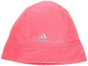 d7ae41614e0 adidas Men s Clima Heat Fleece Beanie - Neon Pink Neon Pink Metallic Silver
