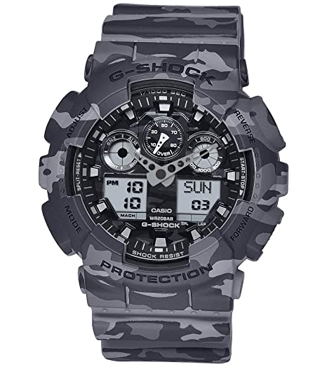0c9061744 Buy Casio G-Shock Analog Grey Dial Men s Watch - GA-100CM-8ADR (G581)  Online at Low Prices in India - Amazon.in