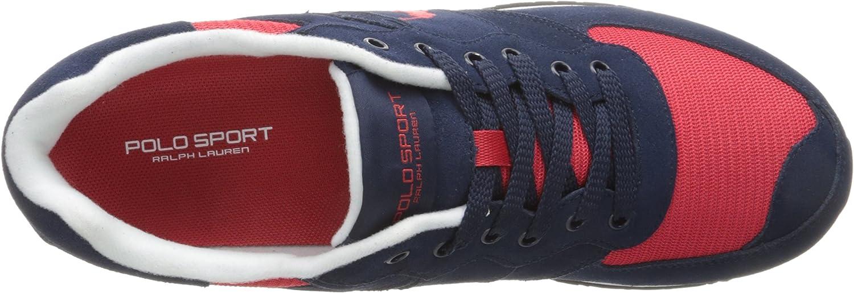 Polo Ralph Lauren Slaton Pony Fashion Sneaker - Azul Marino y Rojo ...