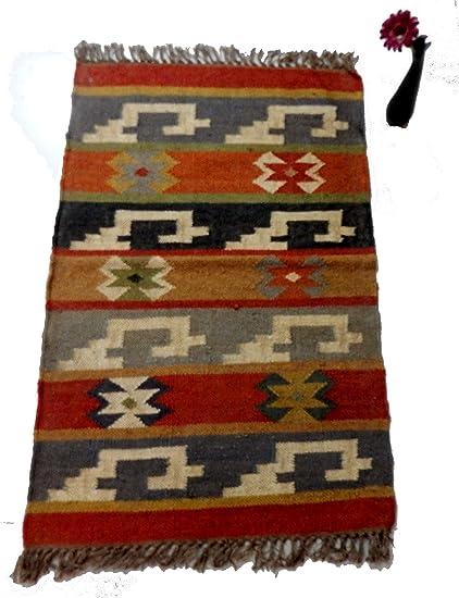 Amazon.com: Handmade Meditation 2x3 feet Handwoven Carpet ...
