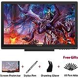Huion KAMVAS GT-191 HD Monitor Tavoletta Grafica da Disegno con Penna con 8192 Livelli di Pressione 19.5 Display Penna HD 1920 x 1080