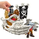 Fisher-Price Imaginext Pirate Billy Bones' Boat