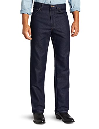 3b304cb9 Wrangler Men's Rugged Wear Regular-Fit Stretch Jean at Amazon Men's ...