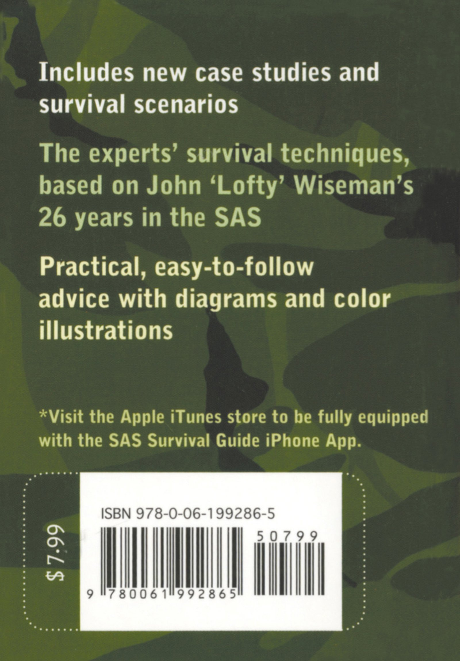 SAS Survival Guide 2E (Collins Gem): For any climate, for any situation by William Morrow Paperbacks