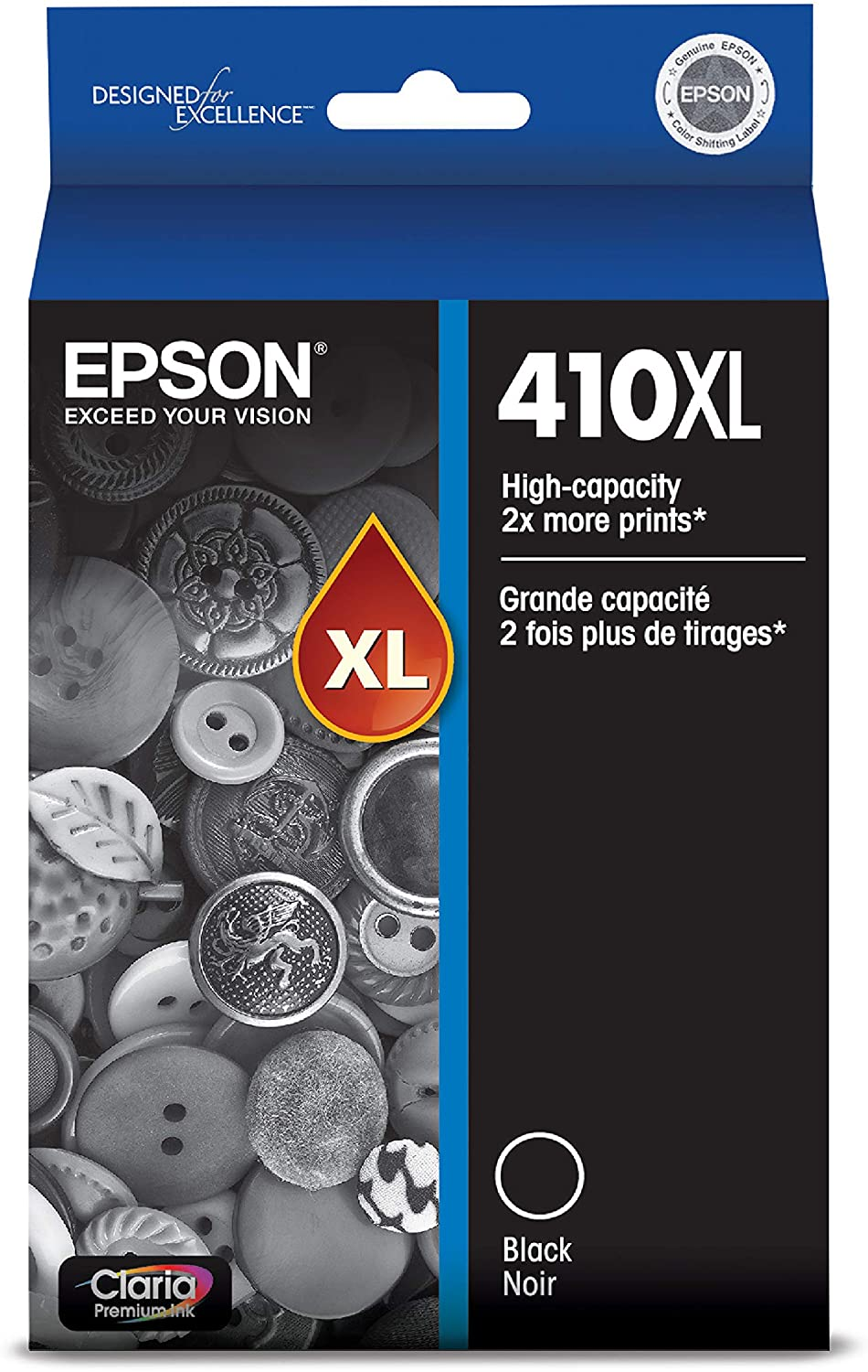 Epson T410XL020 Premium Black High Capacity Cartridge Ink