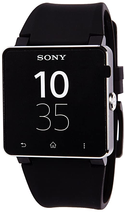 Sony SmartWatch 2 SW 2 Reloj elegante correa de silicona ...