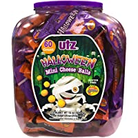60-Count Utz Halloween Mini Cheddar Cheese Ball Barrel