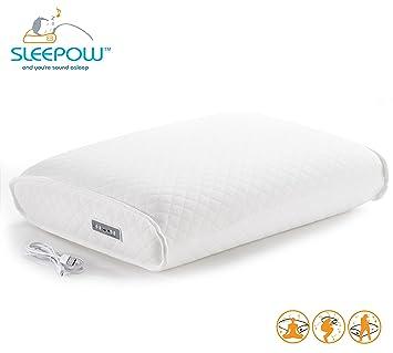 Sleepow Memory Foam Sound Therapy Pillow with MP3 / Sound Machine