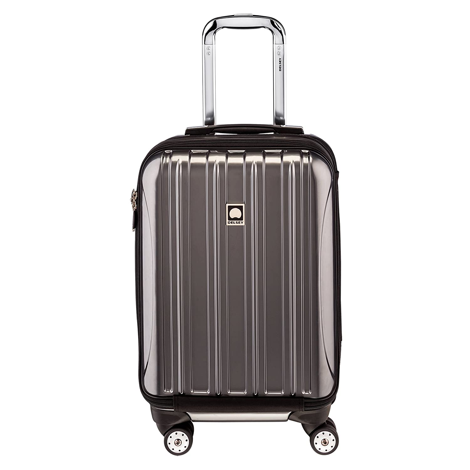 The Delsey Luggage Luggage Helium Aero Int'l Carry-on Exp. Spinner Trolley travel product recommended by Magdalena Kernan on Lifney.