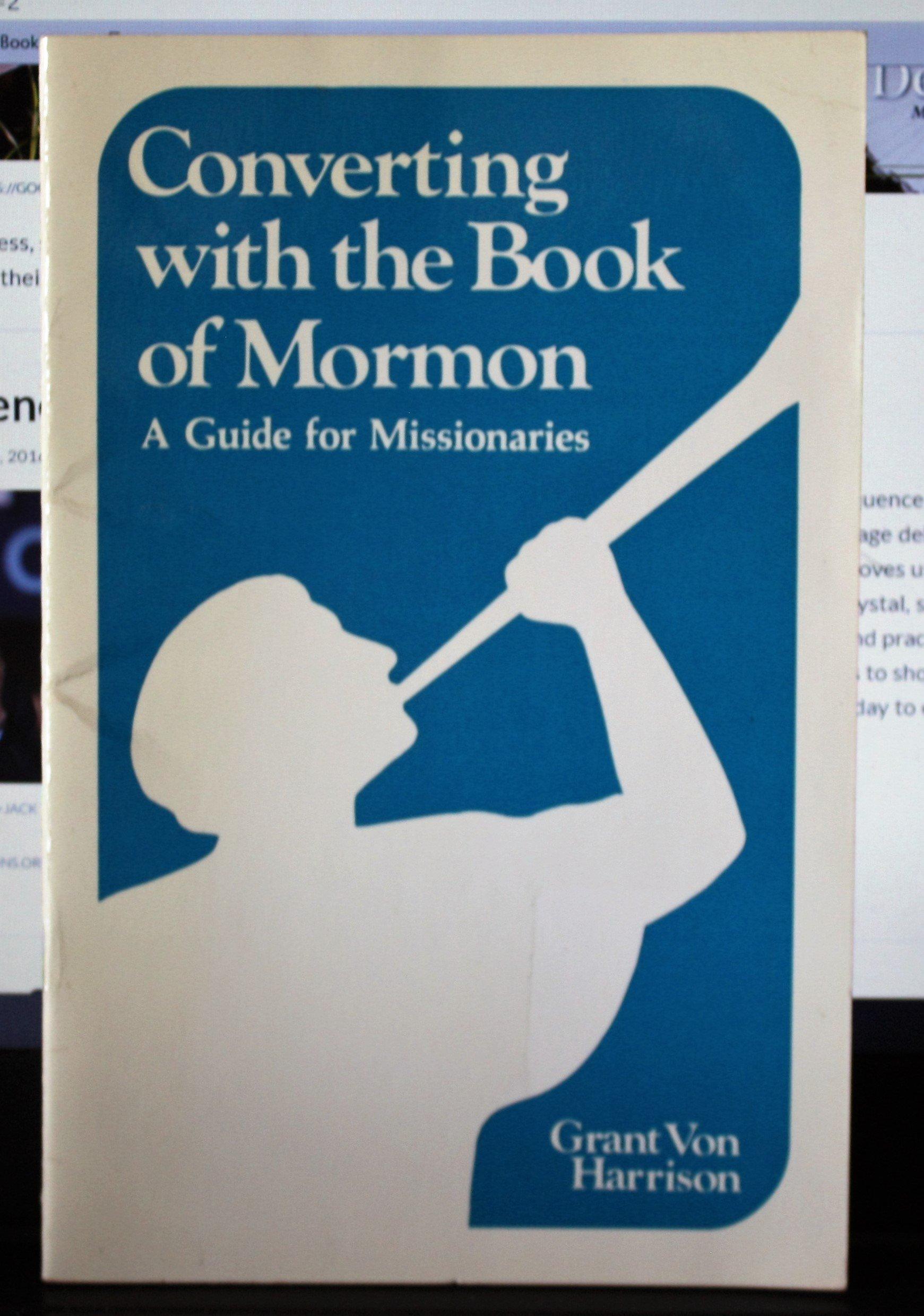 the book of mormon in conversion