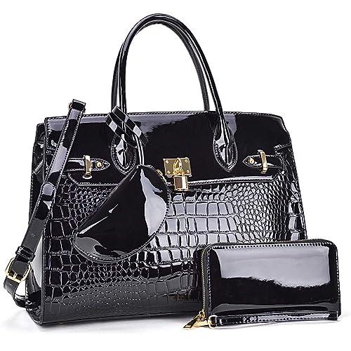 d6aa78bc6a1 Women's Purses and Handbags Large Tote Shoulder Bag Top Handle Satchel Hobo  Bag Briefcase