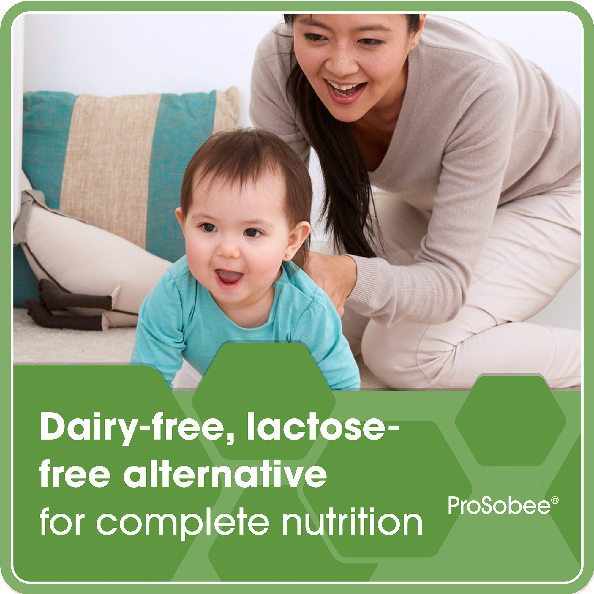 Enfamil ProSobee Soy Sensitive Baby Formula, Dairy-Free Lactose Free Plant Protein Milk Powder, 8  fluid ounce (24 count) - Omega 3 DHA, Iron, Immune & Brain Support by Enfamil (Image #6)