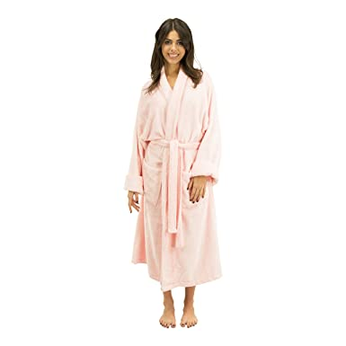 496cc347bec47 Comfy Robes Women's Bamboo Shawl Collar Robe at Amazon Women's ...
