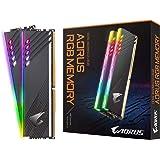 Gigabyte AORUS RGB Memory 16GB (2x8GB) 288-Pin RGB PC4-28800 DDR4 3600MHz Perfect for Intel X299, X299X, Z390 and AMD X570, T