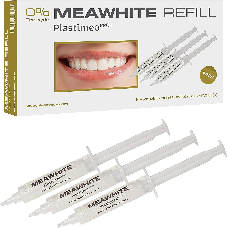 Gel Blanqueador Dental Profesional Kit de Blanqueamiento de Dientes MEAWHITE Refill Teeth Whitening