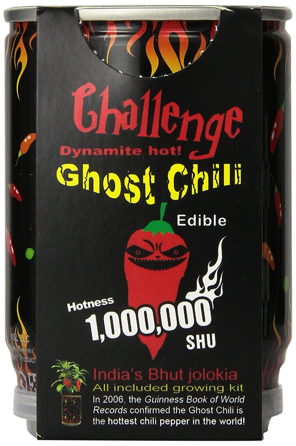 Ghost chili pepper - The hottest pepper in the world!!! 1,000,000 Heat Laval