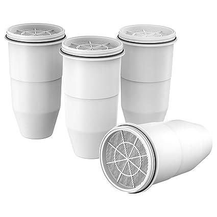 AQUACREST - Filtro de agua de repuesto para jarra ZeroWater y dispensador de agua (paquete