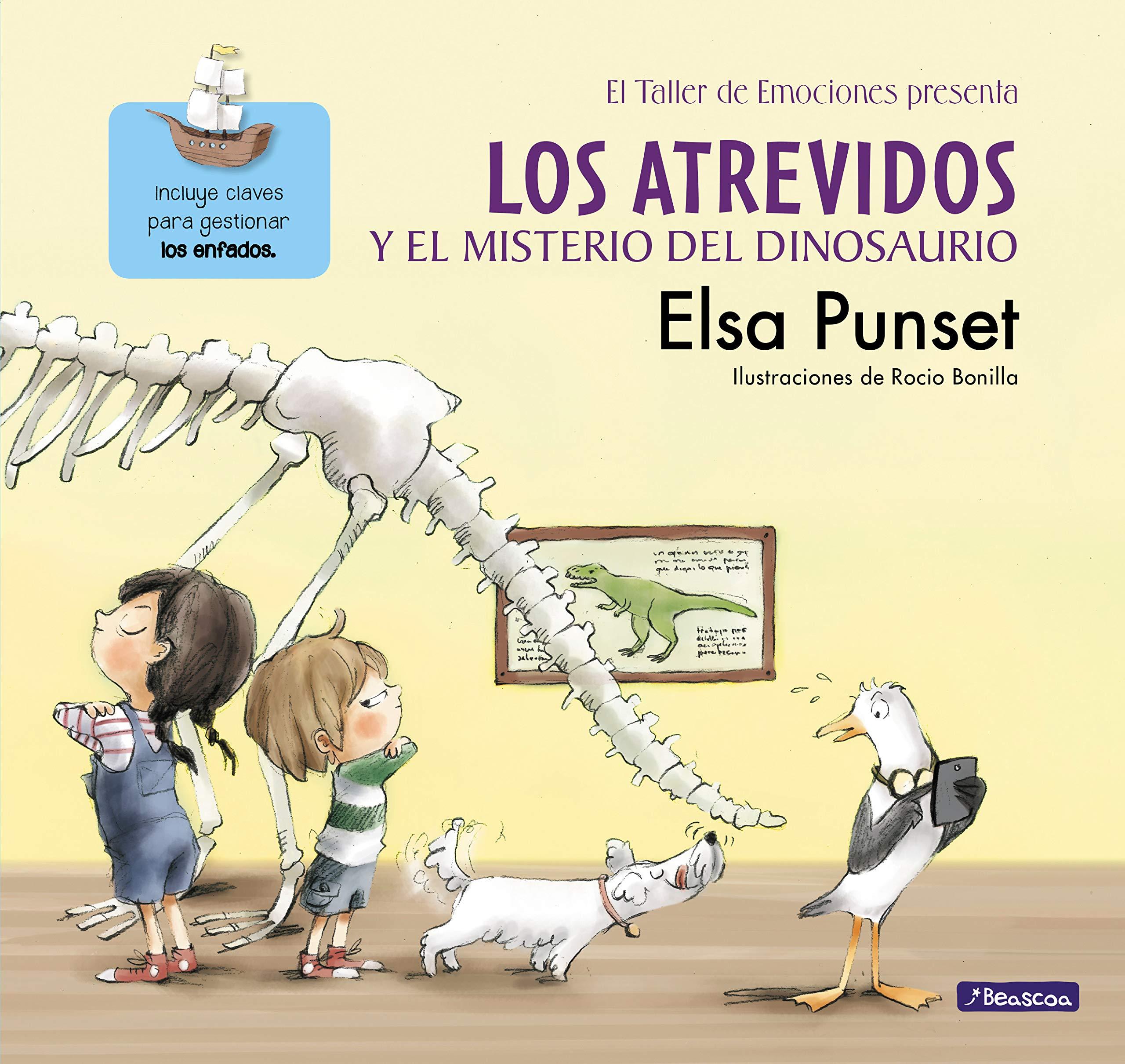 Los Atrevidos y el misterio del dinosaurio El taller de ...