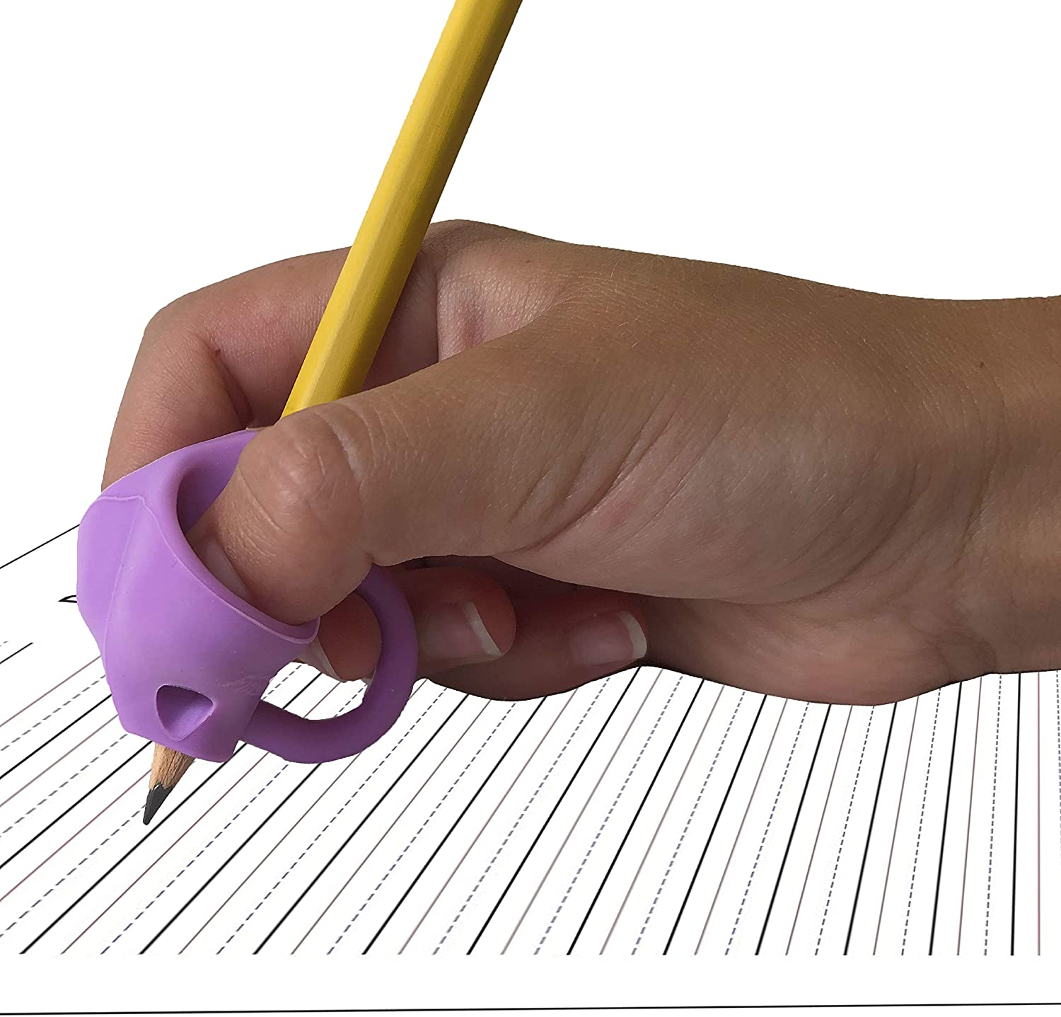 Handwriting Grip Ergonomic Training Pencil Grip Bright Autism Preschoolers Writing Tool for Toddlers 3 Pack Pencil Holder for Kids Pencil Grips for Kids Handwriting-Learning Children