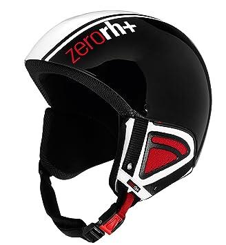 zero rh+ Team - Casco de esquí blanco Weiß Glänzend - Schwarz Glänzend Talla:small