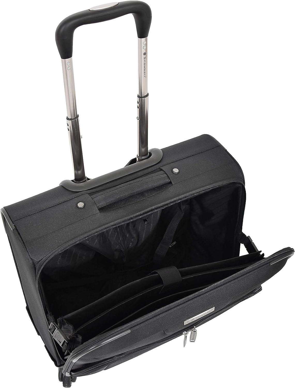 Affaires Sac dOrdinateur Portable Noir Cas Pilote Main Porter Look en Cuir M/édecins Rep Sac HLG2193