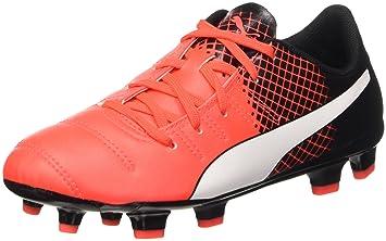 Puma Botas de Fútbol Evopower 4.3 FG Jr  Amazon.es  Deportes y aire libre 0fc321d9b9d