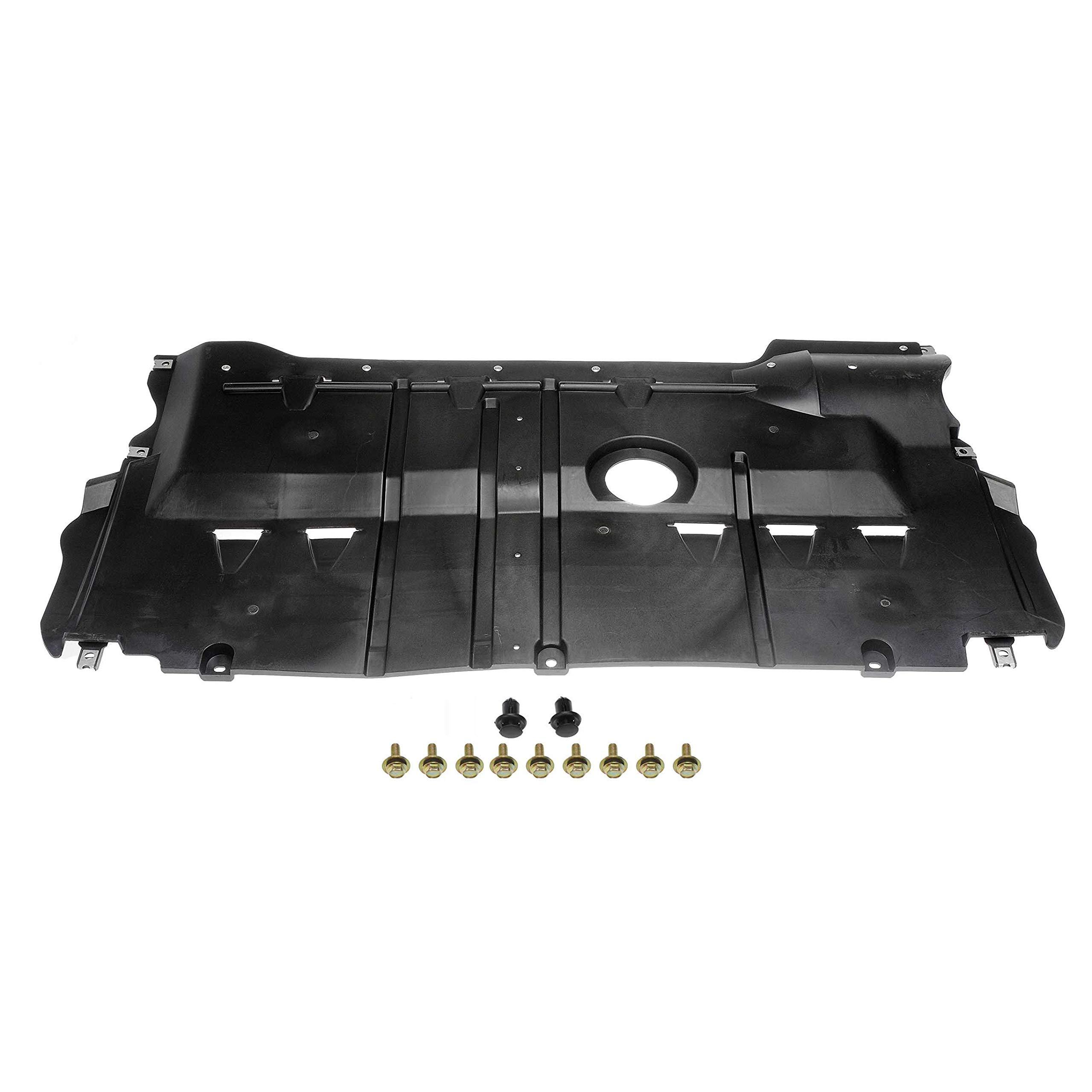 Dorman 924-015 Front Center Lower Undercar Shield for Select Mazda Models
