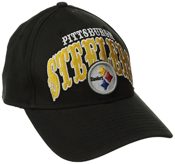 Amazon.com   NFL Pittsburgh Steelers Curve Classic 39Thirty Flex Fit ... 0dfe17c7d