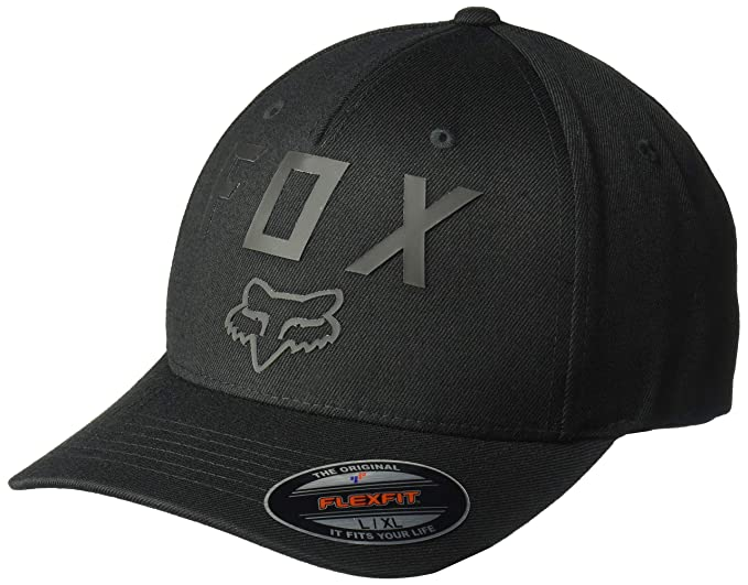 brand new 086d7 b61f7 Fox Men s Number 2 Flexfit HAT, Black, ...