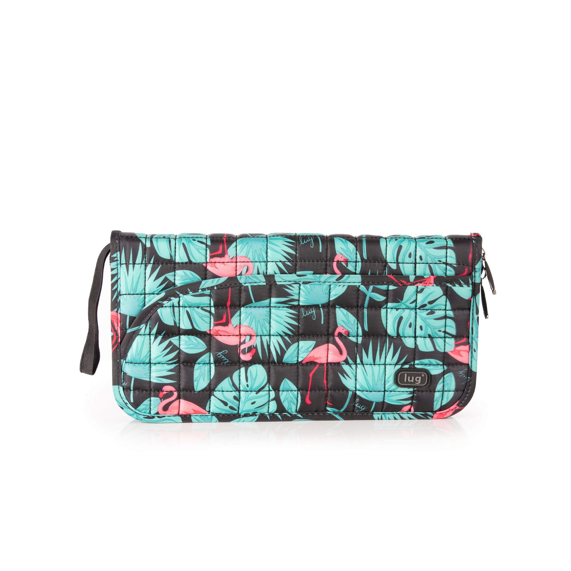 Lug Women's Tango Passport Wallet, Flamingo Black