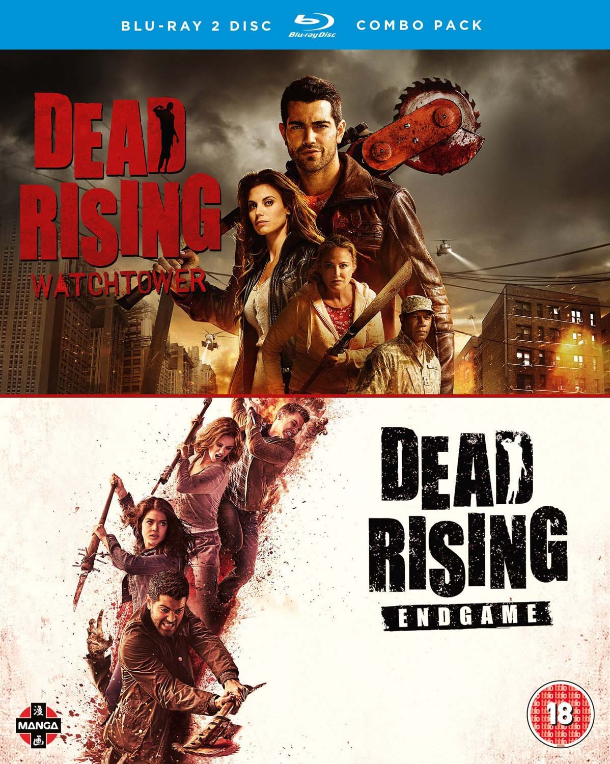 Amazon Com Dead Rising Watchtower Endgame Double Pack Blu Ray Movies Tv